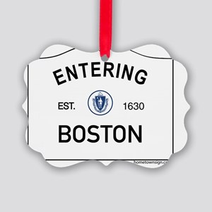 Boston Picture Ornament