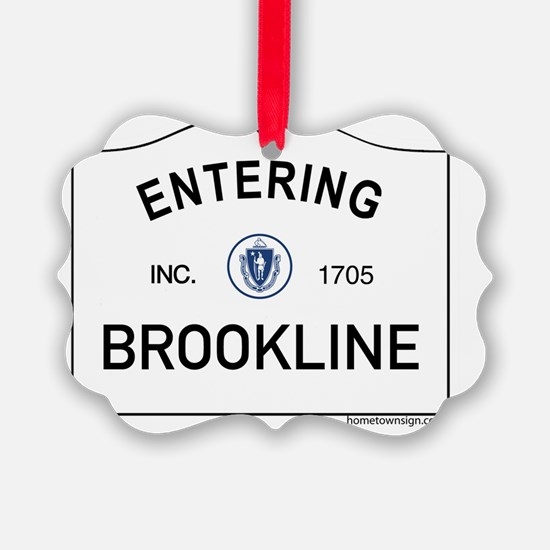 Brookline Ornament