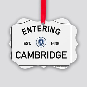 Cambridge Picture Ornament