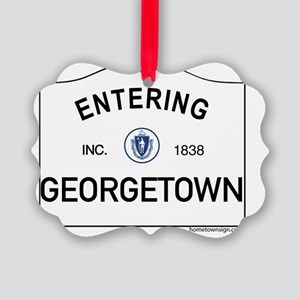 Georgetown Picture Ornament