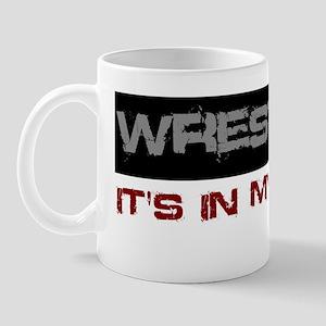 Wrestling in blood Mug