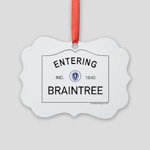 Braintree Picture Ornament