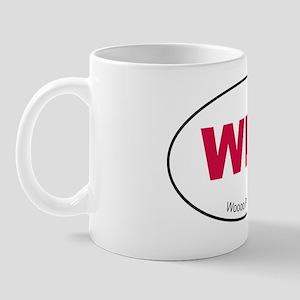Red WPS Sticker Mug