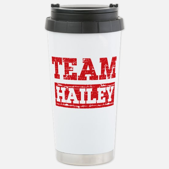 Team Hailey Stainless Steel Travel Mug