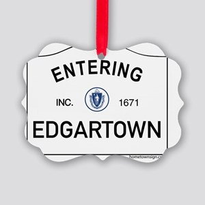 Edgartown Picture Ornament
