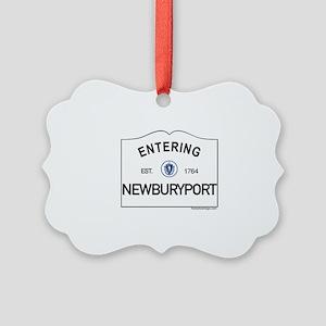 Newburyport Picture Ornament