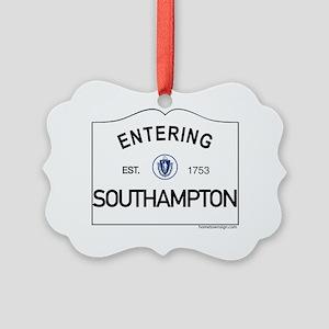 Southampton Picture Ornament