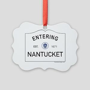 Nantucket Picture Ornament