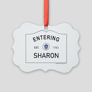 Sharon Picture Ornament