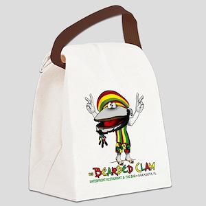 Bearded Clam Canvas Lunch Bag
