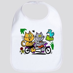 Cycling cats Bib