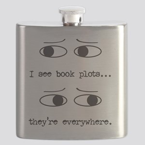 I see book plots... (black) Flask