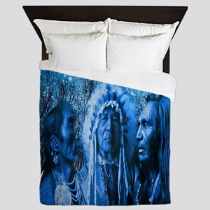 Three Chiefs Queen Duvet