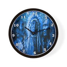 Three Chiefs Wall Clock