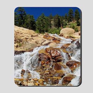 Rushing Waterfall Mousepad