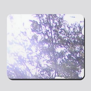 Whispering Blue Tree Mousepad