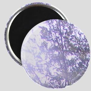 Whispering Blue Tree Magnet