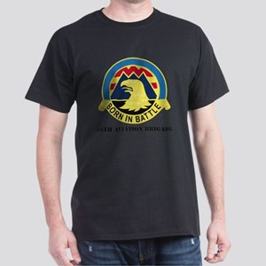 16th Aviation Brigade with Text Dark T-Shirt
