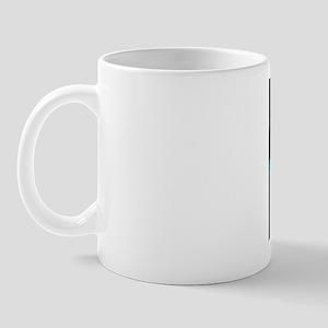 Barbital barbiturate drug molecule Mug