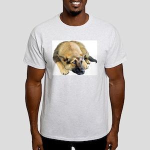 German Shepherd Dog Pup Light T-Shirt