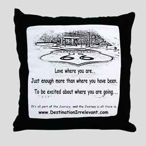 new-get-your-kicks Throw Pillow
