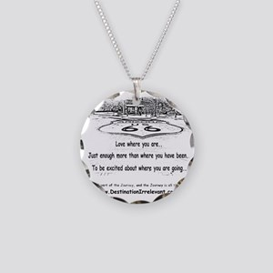 new-get-your-kicks Necklace Circle Charm