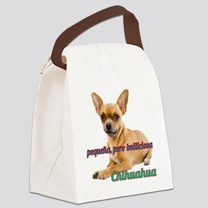 PEQUENA, PERO BULLICIOSA Canvas Lunch Bag