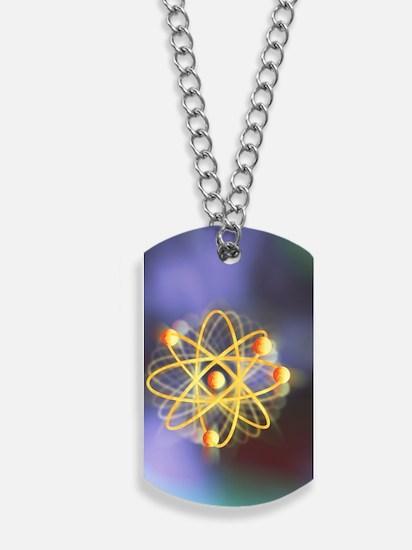 Beryllium atom Dog Tags