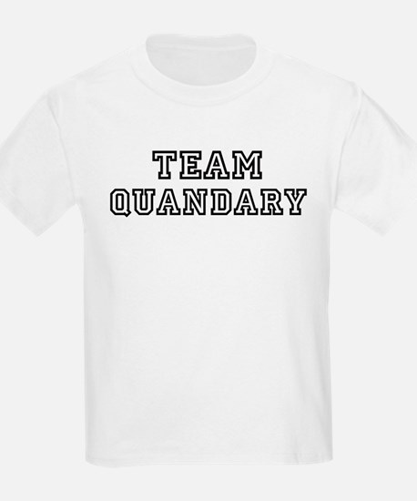 Team QUANDARY Kids T-Shirt