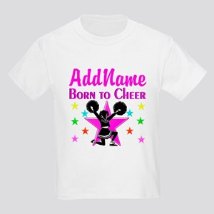 BORN TO CHEER Kids Light T-Shirt