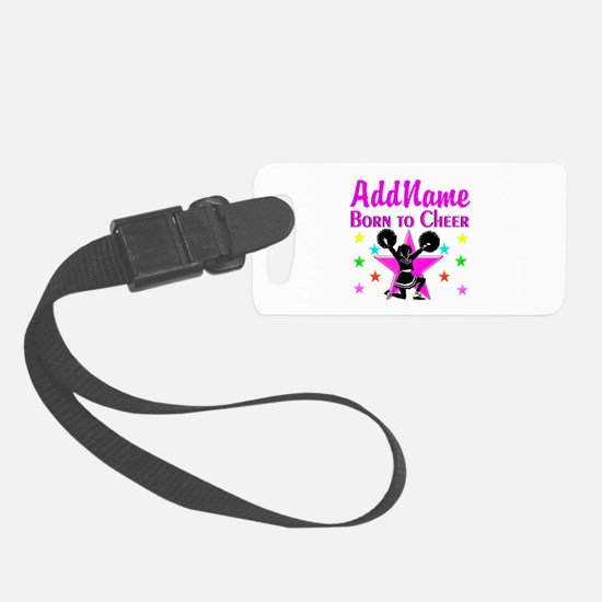 BORN TO CHEER Luggage Tag