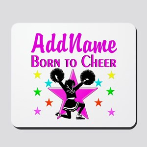 BORN TO CHEER Mousepad