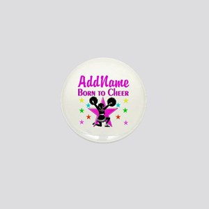 BORN TO CHEER Mini Button