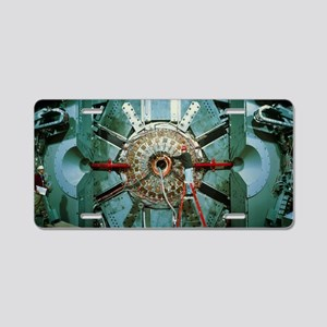 BaBar particle detector, SL Aluminum License Plate