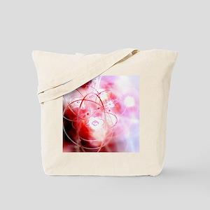 Atomic structure, conceptual artwork Tote Bag