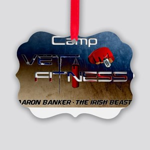 Camp Vet Fitness Picture Ornament