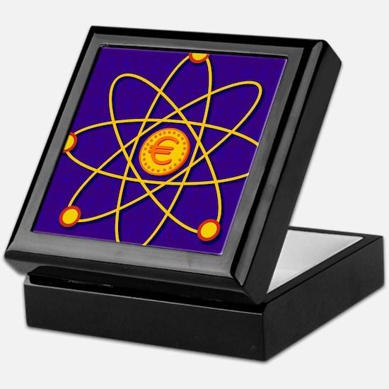 Atomic structure Keepsake Box