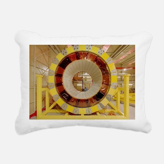 ATLAS detector module Rectangular Canvas Pillow