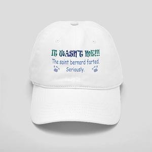 saint bernard farted Cap