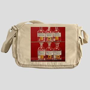 Acids and alkalis Messenger Bag