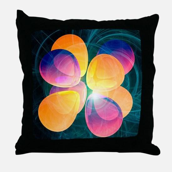 4f2 electron orbital Throw Pillow