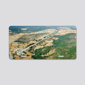 Aerial photo of SLAC Linear Aluminum License Plate