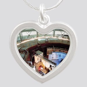 Advanced Light Source synchr Silver Heart Necklace