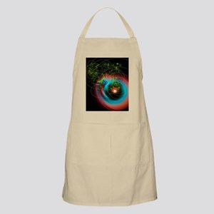 Art of particle tracks Apron