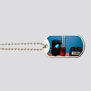 Alkane decolourisation of bromine water Dog Tags