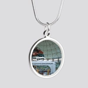 Advanced Light Source synchr Silver Round Necklace