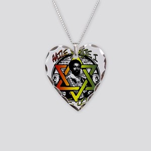 HAILE SELASSIE I - ONE LOVE! Necklace Heart Charm