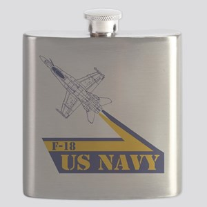 US NAVY Hornet F-18 Flask