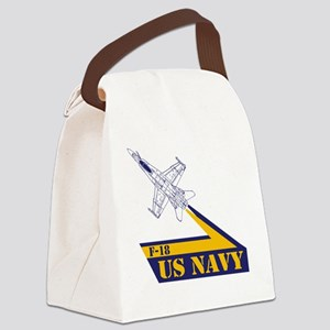 US NAVY Hornet F-18 Canvas Lunch Bag