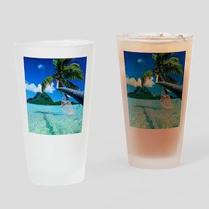 Beach Drinking Glass
